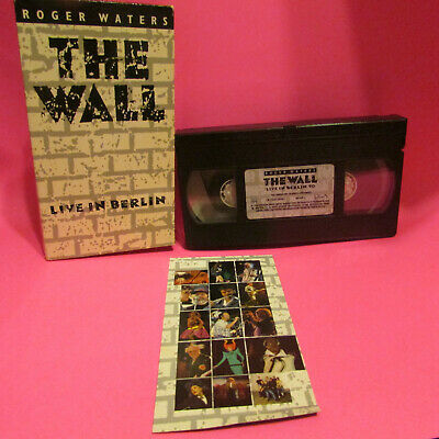Roger Waters The Wall Vhs Tim Curry Paul Carrack Live In Berlin Rare Video