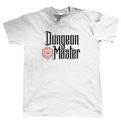 Dungeon Master, Mens T-Shirt - Hobbies Geek DND Dungeons Dragons Gift Him