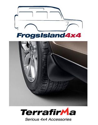 Vplcp0203 Terrafirma Front Mudflaps Pair For Land Rover Discovery Sport 2015>