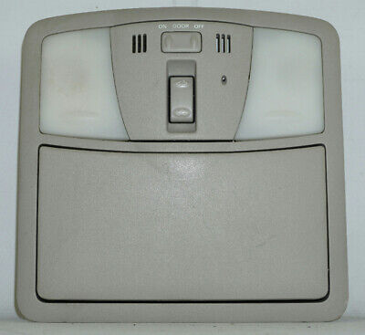 2007 2012 nissan altima overhead console with sunroof switch, mic and map lights