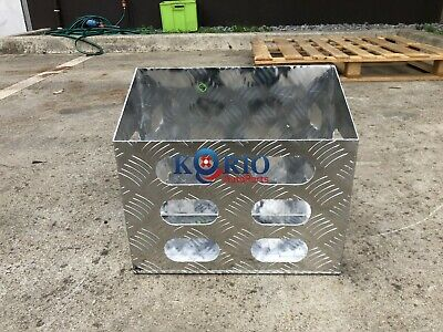 20L ALLOY JERRY CAN HOLDER FOR CANOPY TOOLBOX,TRAILER,CARAVAN,RV 380Lx200Wx340mm