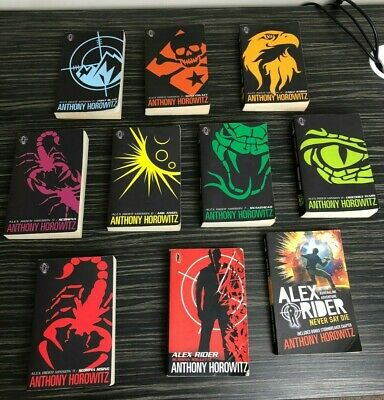 Alex Rider Books 2-11 - Anthony Horowitz - 10 Books