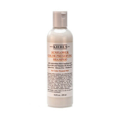 Kiehl's Sunflower Color Preserving Shampoo - Medium Size Bottle 8.4oz (250ml)
