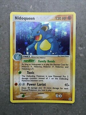 Pokemon TCG Cards Nidoqueen 9/112 Fire Red & Leaf Green Holo Rare NM-M