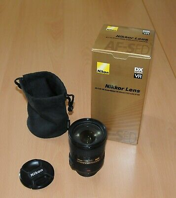 Nikon AF-S DX ED VR 18-200mm f/3.5-5.6, boxed & in good condition but well used