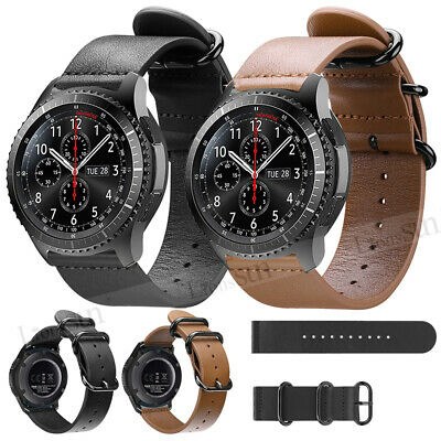 Leather Strap Replacement Watch Band Wristband For Samsung Galaxy 46mm Gear S3