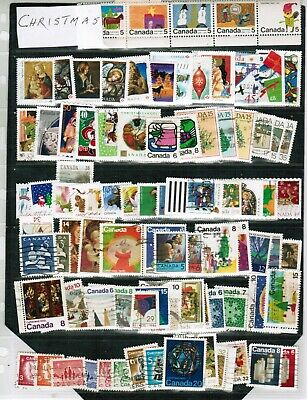 CANADA  CHRISTMAS stamps 60++ SPECIAL  see scan  cat $20.00++ LOT 304