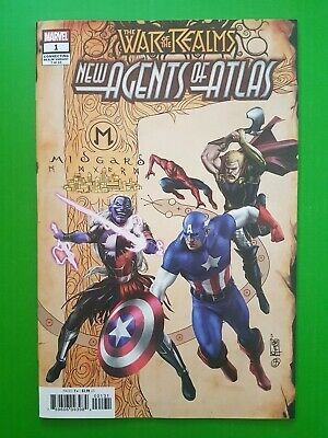 New Agents Of Atlas #1 Camuncoli Connecting Variant (Marvel) War Of Realms