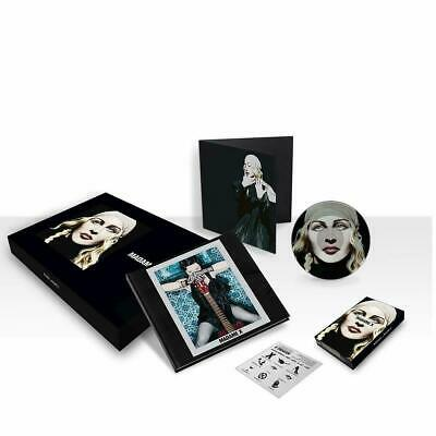 "MADONNA - MADAME X DELUXE BOX 2CD/MC/7""LP/Book/Poster NEW&SEALED"