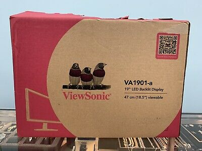 "ViewSonic VA1901-A-R 19"" Widescreen LCD Monitor"