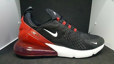 Nike Air Max 270 Bred Black White University Red Anthracite  AH8050 022