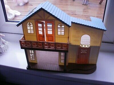 Sylvanian Families  House? HAS EPOCH CO LTD on base