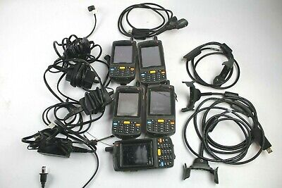Motorola Symbol MC75A8 Windows Mobile Barcode Scanner w/ chargers (Lot of 5)