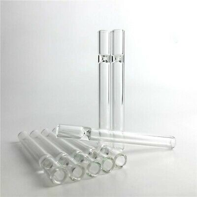 10 Reusable Pyrex Glass STRAW Smoke Herb Blowing Tube Chillum One Hitter
