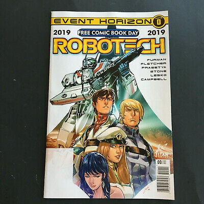 Robotech Chapter 0 Free Comic Book Day 2019 Comic Unstampted