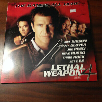 Laserdisc - NTSC - Lethal Weapon 4 PILF-2694  Japan Release