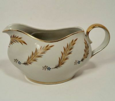 Meito Norleans China Courtley Occupied Japan Gravy Syrup Dressing Boat Pitcher
