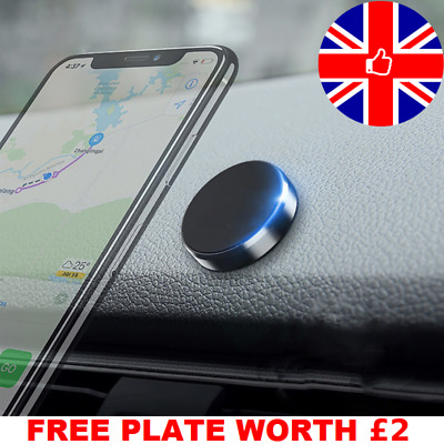 In Car Magnetic Phone Holder Mount Dashboard Dash Bracket Plus Universal Magnet