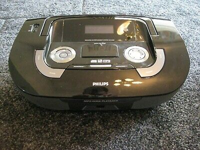 Philips AZ1330D Portable iPod Player / Radio / CD Boom Box Stereo Speaker System