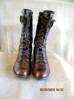 4405e86ed28 TIMBERLAND EARTHKEEPERS SAVIN Hill Mid Womens Boots 8541R BROWN Sz 10 $189