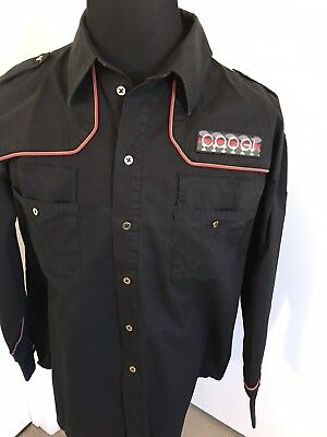3bf701e5 Coogi Australia 1969 Mens Long Sleeve Button Front Shirt With Patch Size  XXL .