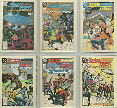 Star Trek TNG Quotable - Comic Books - Complete 6 Card Chase SET - NM