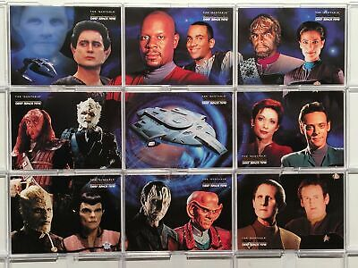 Star Trek Quotable Deep Space Nine DS9 Final Frontier - Chase Card SET (9) - NM