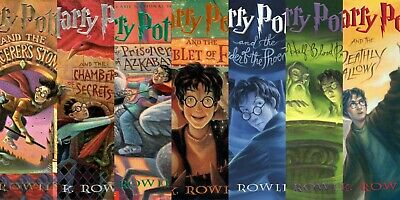 Harry Potter Complete Series (1 - 7)