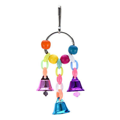 Bird Swing Toys-Parrot Hammock Bell Toys For Budgie Parakeets Toys SW