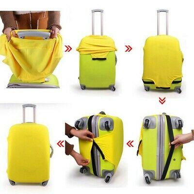 AU Travel Luggage Cover Protector Elastic Suitcase Bag Anti Dust And Scratch