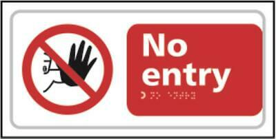 No entry - Taktyle (300 x 150mm) TK0650BSI