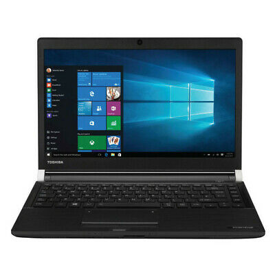 "Toshiba Portege R30-A I7-4610M 8Gb 128Gb Ssd Wifi Hdmi Dvdrw Webcam 13.3"" Win 10"