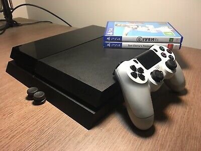 USED Sony PlayStation 4 PS4 Original 500GB Console w/ Games & Accessories