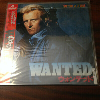 Laserdisc - NTSC - Wanted ( Dead or Alive ) DLZ-0142  Japan Release