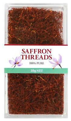 100% Pure Saffron Threads Premium Quality 10g, Chef's Choice, Free Post