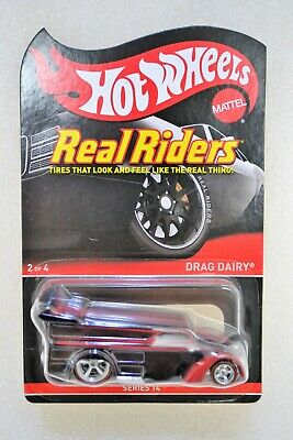 RLC Hot Wheels Real Riders Drag Dairy Redline Club Series 14