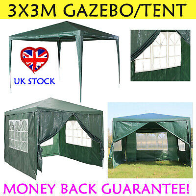 Heavy Duty 3X3 Green Gazebo Tent Outdoor Commercial Market Stall Party Reception