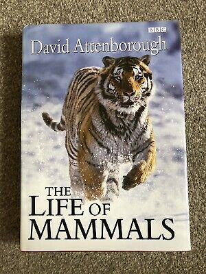 SIGNED DAVID ATTENBOROUGH The Life of Mammals 1/1 HBK Life On Earth / Zoo Quest