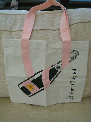 Veuve Clicquot Rose Champagne Tote Bag Brand New in Poly Bag