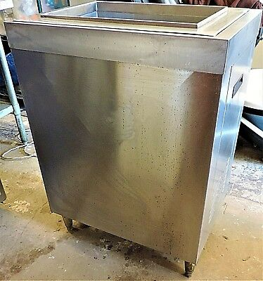 McCann's Ice Bin with Cold Plate Drop in Stand Model 16-1337