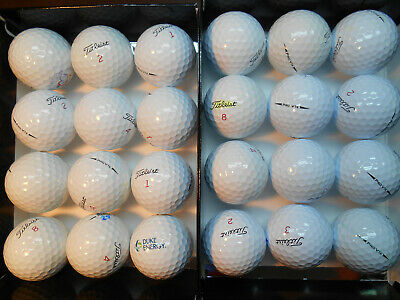 24 Titleist 2017/2018 Pro V1X Mint AAAAA Used Golf Balls