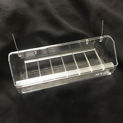 8 Compartment Feeder Trough, Canaries, Finches, Cage & Aviary Birds