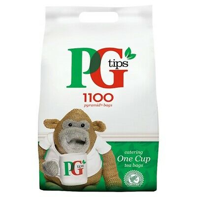 PG Tips Catering One Cup Pyramid Tea Bags. - 1 x 1100 Bags