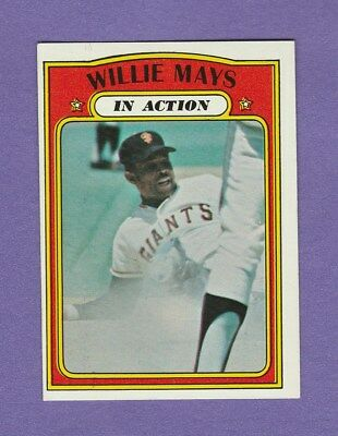 1972 Topps Willie Mays #50 EX