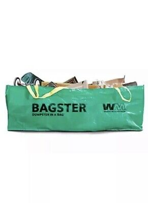 WM BAGCO LLC Dumpster In Bag, 8 x 4 x 2.5-Ft. 3CUYD