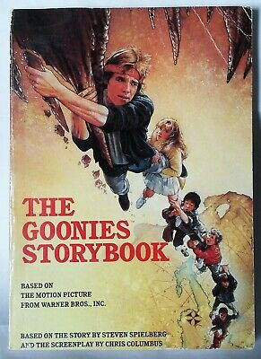 The Goonies Storybook Movie Tie In Steven Spielberg 1985 Corey Feldman OOP Rare!