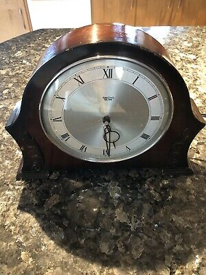 Smiths Sectric Mantle Clock . Art Deco 1940s Second Hand Sweep .GWO
