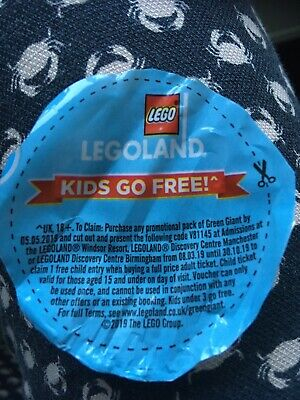 Legoland Child Kid Goes Free Admission Coupon Valid Until 30th Oct 2019