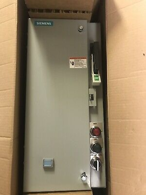 Siemens 17Cuc92Nf10 Fusible Combination Motor Starter