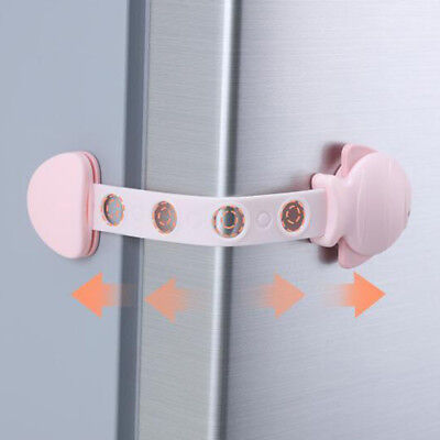 Drawer Lock Child Safety Anti-clip Refrigerator Cabinet Baby Security Protect WE